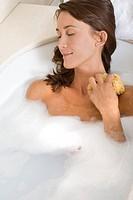 Woman bath.