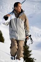 Man ski