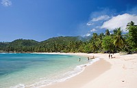 Dominican Republic _ North Coast _ Samana Peninsula _ Betwwen Samana and Las Galeras _ Playa Playuela