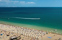 Bulgaria _ Coast of Black Sea _ Golden sands Slatni Piassatsi