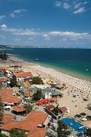 Bulgaria _ Coast of Black Sea _ Golden Sand Slatni Piassatsi