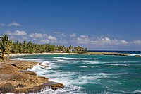 Dominican Republic _ North Coast _ Samana Peninsula _ Between Samana and Las Galeras _ Punta Balandra