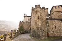 castello di sarriod de la tour, valle d´aosta, italia