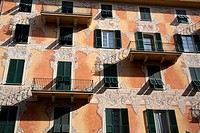 historical palace, chiavari, liguria, italy