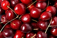 A group of cherries, close_up