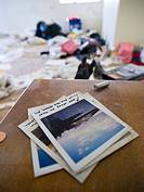 Property of the former owners, left behind in a bank-owned foreclosed house in Stockton, California, United States