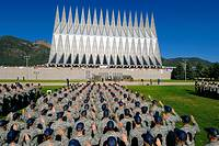 USAF ACADEMY, COLORADO -- The Class of 2012 recites the Oath of Allegiance on day two of the 38 days of Basic Cadet Training