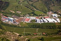 Zubialde paper mill, Aizarnazabal, Guipuzcoa, Basque Country, Spain