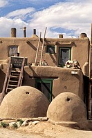 Toas Pueblo, New Mexico  Probably built between 1000 and 1450 A D  It was designated a National Historic Landmark and World Heritage Site