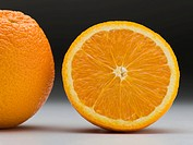 An orange and a half
