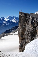 Barrhorn, Hiker, Hike, Hiking, Cliff, Alps, Alpine, Wallis, Canton Of Valais, Mountain, Mountains, Outdoors, Active, Vacations, Travel, Leisure, Natur...