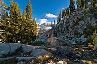 Back country of the Sierra Nevada mountains, Sequoia National Park, California, United States of America