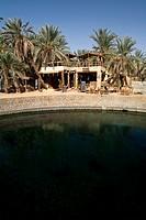 Cleopatra bath in Siwa Oasis