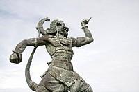 Pecatu village, Nusa Dua, Bali, Indonesia, Statue