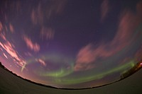 Northern lights Alberta Canada