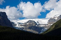 Mountains in Jasper National Park, Alberta, Canada