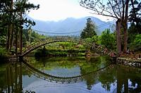 Asia, China, Taiwan, Nantou, Lugu Township, Xitou, Daxue Pond