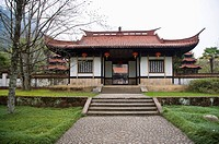 Asia, China, Fujian, UNESCO, World Cultural Heritage, World Natural Heritage, Wuyi Mountain, Wuyi Palace Scenic Area, Zhu Xi Memorial Hall