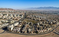 Aerial photograph of the city of Eilat