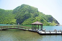 Asia,China,Taiwan,Yilan,Gueishan Island,The Tail Lake