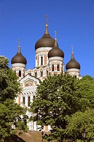 Alexander Nevski Cathedral Tallinn, Estonia, Baltic States, Northeast Europe