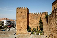 Torre de la Hierba in the old town, Caceres, Extremadura, Spain