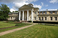 old manor house refurbished as traditional hospital at Krimulda, Latvia, Baltic State, Europe