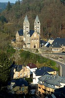 Church in Clervaux in Luxembourg, 2006 novembrer