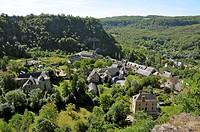 Salles-la-Source, Aveyron, Midi-Pyrenees, France