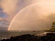 A rainbow, Poipu, Kauai, Hawaii