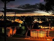 Skyline With Sunset, South Area, São Paulo, Brazil