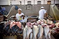 Salespersons of Fish, Ver_o_Peso Market, Belém, Pará, Brazil