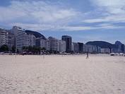 Beach, Atlântica Avenue, Copacabana, Rio de Janeir