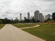 Landscape, Povo Park, Itaim Bibi, São Paulo, Brazi