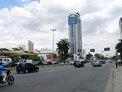 City, Traffic, Juscelino Kubitschek Avenue, Itaim