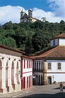 Historical city, Ouro Preto, Minas Gerais, Brazil