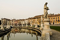 Canal in Padova, Italy