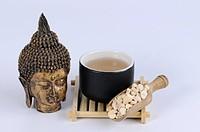 Cup of Pinellia Tuber tea, Pinelliae Rhizoma, Ban Xia