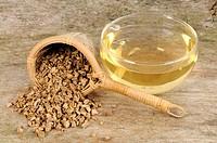 Cup of Indigowoad Root tea, Isatidis Radix, Ban Lan Gen
