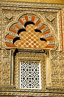Spain, Andalusia, Cordoue, detail of la Mezquita which is very well preserved, the second biggest mosque after la Mecca Mosque