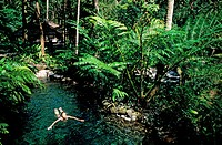 Indonesia, Bali, close to Ubud, hotel Begawan Giri, Spa La Source