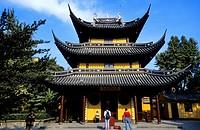 China, Shanghai, Longhua Buddhist Monastery