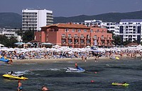Bulgaria, Black Sea region, Sunny Beach, resort in North Nessebar