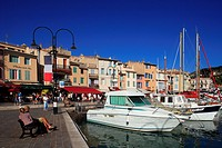 France, Bouches du Rhone, Cassis, marina
