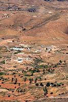 Tunisia, Southern Tunisia, landscape near Matmata