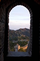 China, around Beijing, Mutianyu, Great Wall, listed as World Heritage by UNESCO