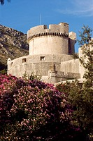 Croatia, Dalmatia, Dalmatian coast, Dubrovnik, historic center listed as World Heritage by UNESCO, Minceta tower