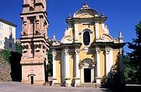 France, Haute Corse, Castagniccia region, La Porta, Saint Jean Baptiste church
