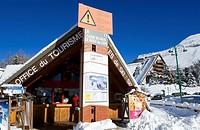 France, Isere, Oisans massif, Les Deux Alpes ski resort