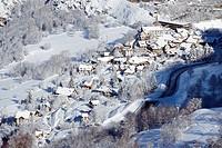 France, Isère, Oisans massif, Mont de Lans near Les Deux Alpes ski resort